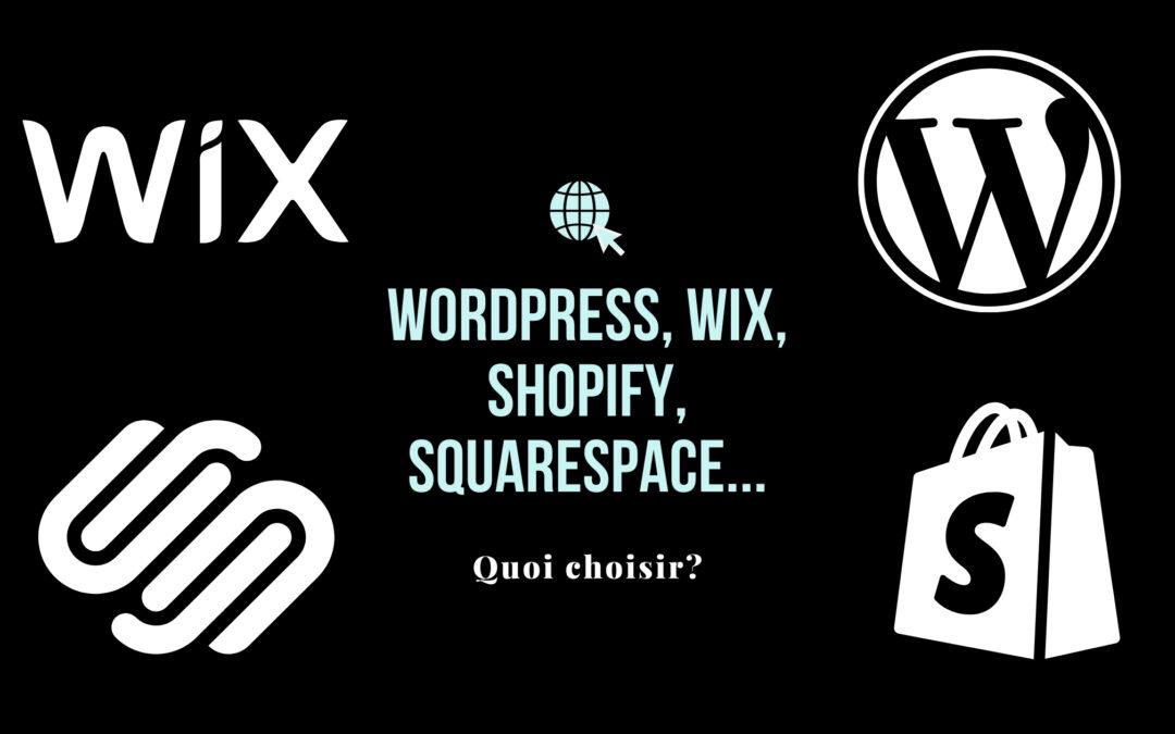 Quelle plateforme web choisir?
